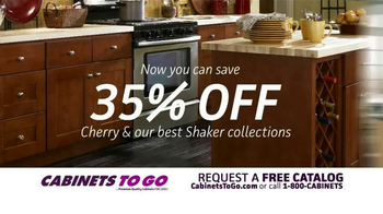 Cabinets To Go American Cherry Sale TV Spot - Thumbnail 5