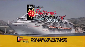 The Tom Joyner Foundation Fantastic Voyage 2015 TV Spot, 'Great Music' - 2 commercial airings