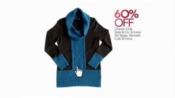 Macy's Cyber Monday Sale TV Spot, 'Winter Wardrobe' - Thumbnail 3