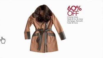 Macy's Cyber Monday Sale TV Spot, 'Winter Wardrobe' - Thumbnail 4