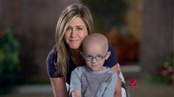 St. Jude Children's Research Hospital TV Spot, 'Close' Ft. Jennifer Aniston - 140 commercial airings