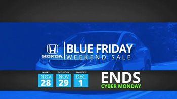 Honda Blue Friday Weekend Sale TV Spot, 'Save Thousands' - Thumbnail 9