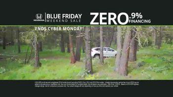 Honda Blue Friday Weekend Sale TV Spot, 'Save Thousands' - Thumbnail 2
