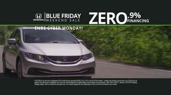Honda Blue Friday Weekend Sale TV Spot, 'Save Thousands' - Thumbnail 3