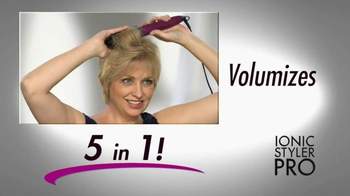 Instyler Ionic Styler Pro TV Spot, 'Blend the Two Together' - Thumbnail 3