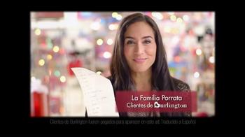 Burlington Coat Factory TV Spot, 'La Familia Porrata' [Spanish] - Thumbnail 1