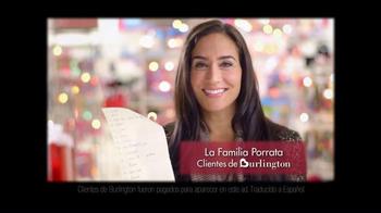 Burlington Coat Factory TV Spot, 'La Familia Porrata' [Spanish] - Thumbnail 2