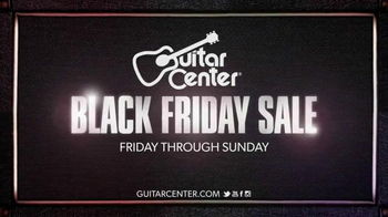 Guitar Center Black Friday Sale TV Spot, 'Rock On' - Thumbnail 10