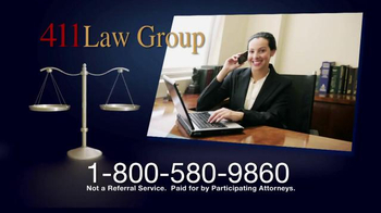 411 Law Group TV Spot, 'Experience the Difference' - Thumbnail 8