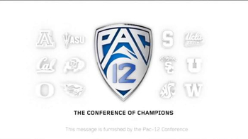 PAC-12 Conference TV Spot, 'Power of 12 Basketball' - Thumbnail 10