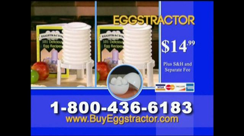 Eggstractor TV Spot, 'No More Mess' - Thumbnail 10