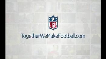NFL Together We Make Football TV Spot, 'Six Finalists' - Thumbnail 9