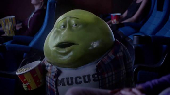 Mucinex TV Spot, 'Movie Theater' - Thumbnail 4