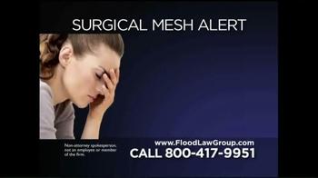 Flood Law Group TV Spot, 'Surgical Mesh Alert' - Thumbnail 1