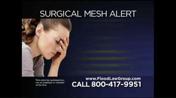 Flood Law Group TV Spot, 'Surgical Mesh Alert' - Thumbnail 4