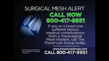 Flood Law Group TV Spot, 'Surgical Mesh Alert' - Thumbnail 6