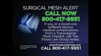 Flood Law Group TV Spot, 'Surgical Mesh Alert' - Thumbnail 8