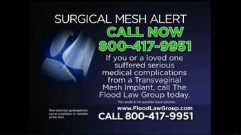 Flood Law Group TV Spot, 'Surgical Mesh Alert' - Thumbnail 9