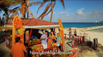 Nassau Paradise Island TV Spot, 'Exactly Where you Want to Be' - Thumbnail 2