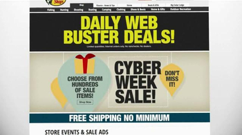 Bass Pro Shops Cyber Week Sale TV Spot, 'Daily Web Busters' - Thumbnail 10