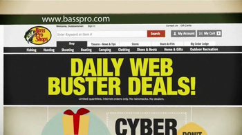 Bass Pro Shops Cyber Week Sale TV Spot, 'Daily Web Busters' - Thumbnail 9