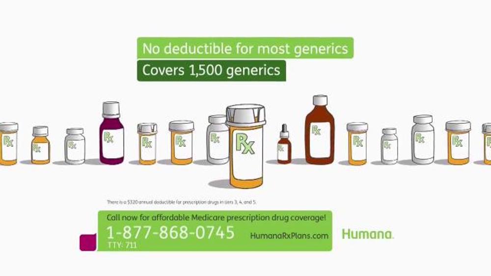 Humana TV Commercial, 'Prescription Drug Coverage'