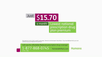Humana TV Spot, 'Prescription Drug Coverage' - Thumbnail 3