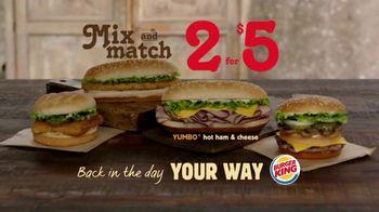 Burger King Yumbo TV Spot, 'Return of the '70s' - Thumbnail 8