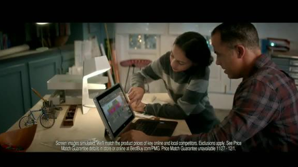 best buy hp 2 in 1 tv commercial christmas light display ispottv - Best Buy Christmas Hours