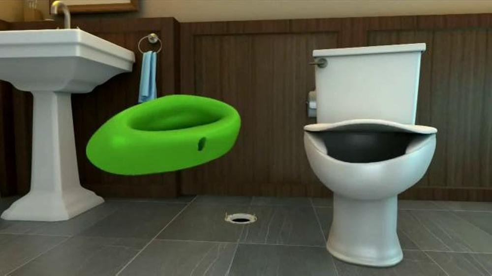 Sani Seal TV Commercial, \'Talking Toilet\' - iSpot.tv
