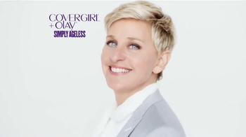 CoverGirl Olay+ Simply Ageless TV Spot, Featuring Ellen DeGeneres - Thumbnail 7