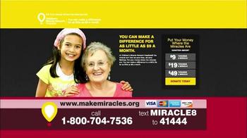 Children's Miracle Network Hospitals TV Spot, 'Sophie' Feat. John Schneider - Thumbnail 9