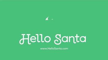 Hello Santa TV Spot, 'Live Video Calls with Santa' - Thumbnail 1