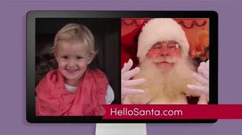 Hello Santa TV Spot, 'Live Video Calls with Santa' - Thumbnail 4