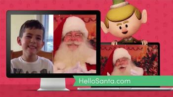Hello Santa TV Spot, 'Live Video Calls with Santa' - Thumbnail 7