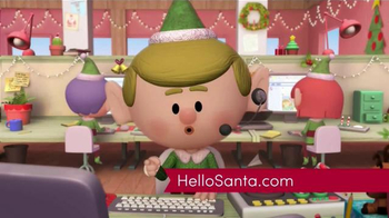 Hello Santa TV Spot, 'Live Video Calls with Santa' - Thumbnail 9