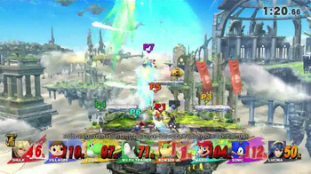 Super Smash Bros. for Wii U TV Spot, 'Star-Studded Smash Fest' - Thumbnail 7