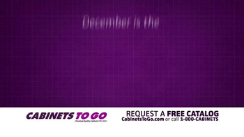 Cabinets To Go TV Spot, 'December: The Month of Giving' - Thumbnail 1