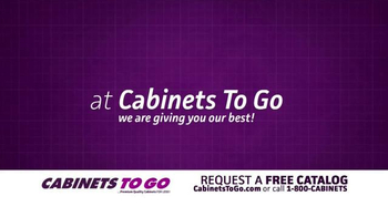 Cabinets To Go TV Spot, 'December: The Month of Giving' - Thumbnail 2