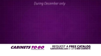 Cabinets To Go TV Spot, 'December: The Month of Giving' - Thumbnail 6