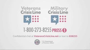 Veterans Crisis Line TV Spot, 'Diner' - Thumbnail 9