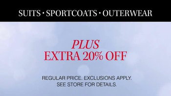 JoS. A. Bank TV Spot, 'Suits, Sportcoats and Outwear' - Thumbnail 6