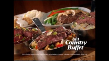 Old Country Buffet TV Spot, 'It's Steaktastic!' - Thumbnail 6
