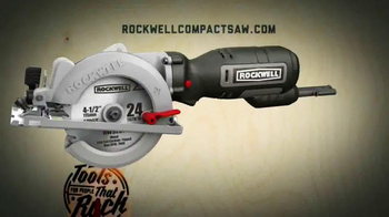 Rockwell Compact Circular Saw TV Spot, 'So Powerful' - Thumbnail 10