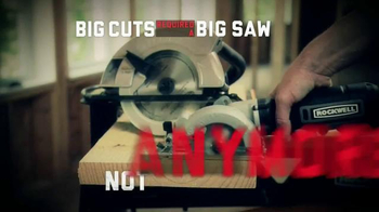 Rockwell Compact Circular Saw TV Spot, 'So Powerful' - Thumbnail 2
