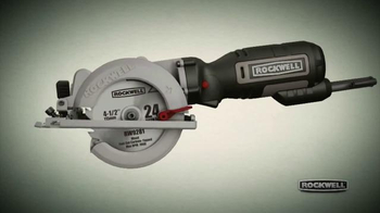 Rockwell Compact Circular Saw TV Spot, 'So Powerful' - Thumbnail 3