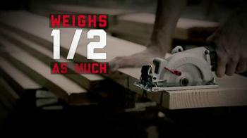 Rockwell Compact Circular Saw TV Spot, 'So Powerful' - Thumbnail 6
