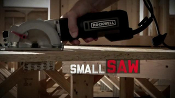 Rockwell Compact Circular Saw TV Spot, 'So Powerful' - Thumbnail 9