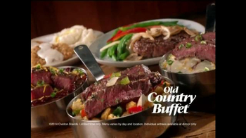 Old Country Buffet TV Spot, \'New Entrees\'