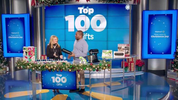 Walmart TV Spot, 'Top 100 Gifts' Feat. Melissa Joan Hart, Anthony Anderson - Thumbnail 3